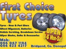 First Choice Tyres Ad