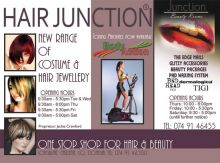 Hair Junction Half Page Ad
