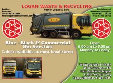 Logan Waste Recycling Half Page