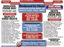 Mulroy Cars Full Page Ad